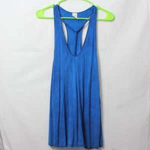 Free People Tops - NWT Free People Amelia Oversized Blue Tank Size S
